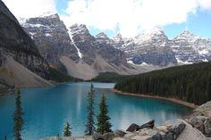 Valley of the Ten Peaks Moraine Lake Banff Alberta Canada [OC] [3872 x 2592]