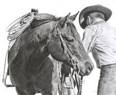 Awesome cowboy art!!  Mary Ross Buchholz - Early Start