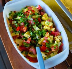 Grillad ananassallad Grits, Deli, Salad Recipes, Salsa, Vegetarian Recipes, Food And Drink, Mexican, Lunch, Vegan