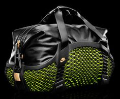 Nike's new 3d printed bag  http://kikstop.com/news/nikes-first-3d-printed-bags/