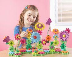 Build & Bloom Flower Garden Gears Gears Gears