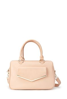 Faux Leather Satchel from Forever 21 $27,90
