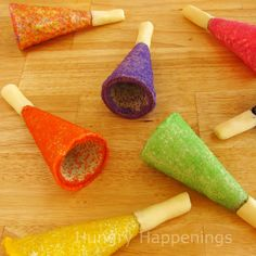 Hungry Happenings: Toot your own edible horn this New Year's eve.