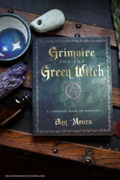 Some of my Favorite Witchcraft Books My favorite witchcraft book? Grimoire for the Green Witch by Ann Moura. Check out this list of more favorite witchcraft books, spell books, and other witchy things to read. Witchcraft Books, Green Witchcraft, Wiccan Spells, Magic Spells, The Good Witch, Spirituality Books, Magic Book, Witch Aesthetic, Book Of Shadows