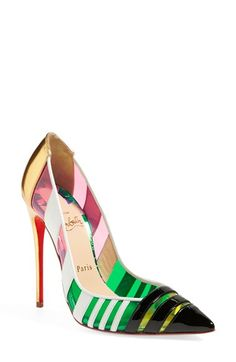 5d991e58ab2 Christian Louboutin  Bandy  Pointy Toe Pump available at  Nordstrom  Louboutin Talon
