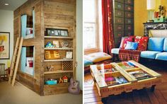 DIY Easy Wooden Furniture Projects From Pallets | 101 Pallets