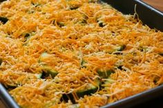 Kalyn's Kitchen®: Val's Kid-Friendly Broiled Zucchini Rounds with Cheese