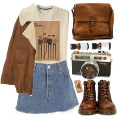 Joy Division by child-of-the-tropics on Polyvore featuring Wunderkind, Dr. Martens and Boomerang