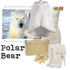 Animal Fashion- Polar Bear