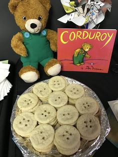 Snack idea to go with the Corduroy children's book