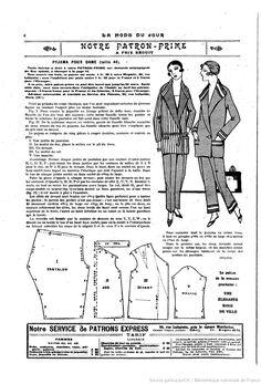 La Mode du jour | 1926-03-18 | Gallica