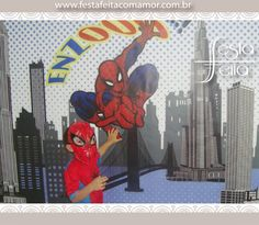 Spider man party decor, Spider man, cartoon, printable party decor,