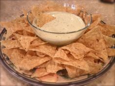 Chuys Creamy Jalepeno Dip copycat! must try! I used fresh garlic and jalapeños though.