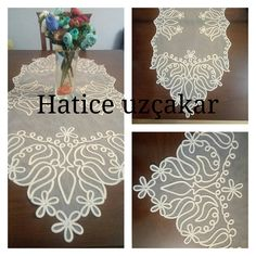 """""""This post was discovere Tatting Patterns, Embroidery Patterns, Brother Innovis, Romanian Lace, Arts And Crafts, Paper Crafts, Square Blanket, White Embroidery, Lace Making"""