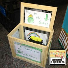 The Polka-dotted Teacher: Simple Machines and Leprechaun Traps St Patrick Day Activities, Activities For Kids, School Projects, Craft Projects, Leprechaun Trap, St Patrick's Day Crafts, Simple Machines, Pot Of Gold, St Patricks Day
