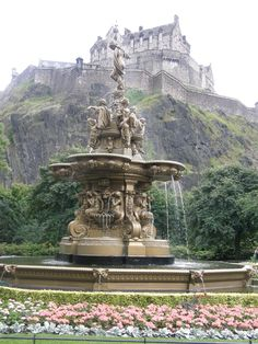 #Edinburgh Castle in #Scotland #travel #europe