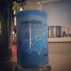 Diamond candles! Griff bought one for me and it just came. Inside every candle is a diamond ring worth $10, $100, $1000, or $5000! They're all natural made from soy and smell amazing - only $25!