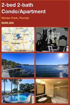 2-bed 2-bath Condo/Apartment in Winter Park, Florida ►$299,500 #PropertyForSale #RealEstate #Florida http://florida-magic.com/properties/5281-condo-apartment-for-sale-in-winter-park-florida-with-2-bedroom-2-bathroom