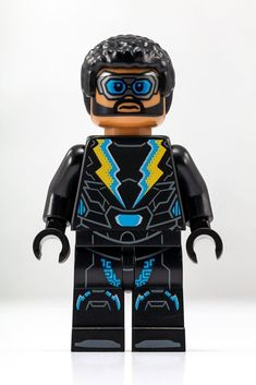 SDCC 2018 Exclusive - Lego Mini Figure Black Lightning Item will be packaged well and shipped via USPS First Class. Pop Marvel, Black Bolt Marvel, Lego Dc Comics, Dc Comics Heroes, Batman Lego, Lego Custom Minifigures, All Lego, Black Lightning, Lego Photography