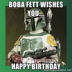 Bildergebnis für happy birthday middle age star wars