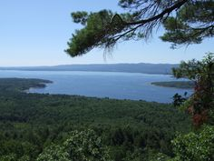 Great Sacandaga Lake Overlook \\ New York
