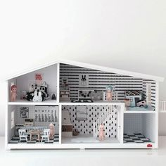 :: para pequenos ::  trendy dolls house