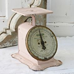 Vintage scales | We have loads of these available for you to rent from Family Tree Vintage | Muskoka, ON  | www.tracyfowler.com  | great item for on a candy table at your wedding or baby shower.