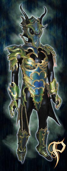 Female Dragon Armor Complete by Azmal.deviantart.com on @deviantART http://www.PrinceArmory.com http://www.facebook.com/PrinceArmory