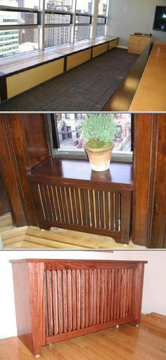 Hire these custom cabinet makers to provide you with your personalized style that fits your needs. They specialize in wooden radiator covers, entertainment storage, bookcases, and vanities, among others.