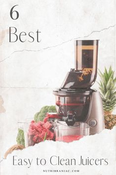 Check out our buying guide and top 6 picks for best easy to clean juicers. Eliminate the upkeep, find a quick & easy clean-up juicer in this buyer's guide. Green Smoothie Recipes, Healthy Smoothies, Plant Based Diet, Plant Based Recipes, Best Juicer To Buy, Best Juicer Machine, Healthy Blender Recipes, Health And Wellness Quotes, Health Tips