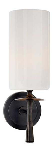 possible flanking bathroom mirror   DRUNMORE SINGLE SCONCE