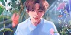 Kids Fans, Ghost Cat, Stray Kids Seungmin, Art Folder, Fandom, Aesthetic Drawing, Kpop Fanart, Lee Know, Boy Groups