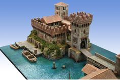 Minecraft Architecture, Minecraft Buildings, Conan Exiles, Minecraft Medieval, Castle House, How To Play Minecraft, Minecraft Designs, Fantasy Miniatures, Fortification