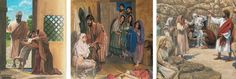 Three resurrections as recorded in the Bible: a widow's child, a Christian woman, and Jesus' friend Lazarus
