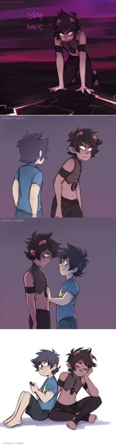 I've not see this one before! I like the comparison of Lapiz and Karkat