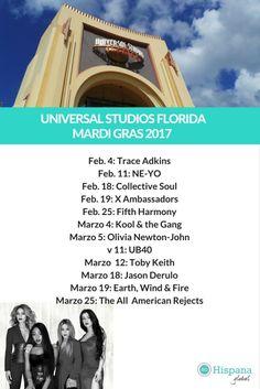 Fifth Harmony y otros artistas estarán actuando en Universal Orlando para Mardi Gras