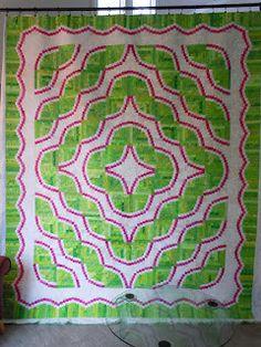 Judy Martin - Snake River quilt