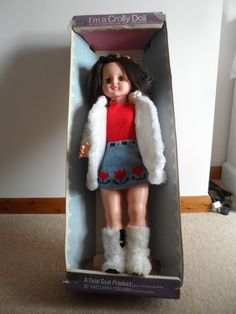 Large Crolly Doll | 217+6 Old Factory, Effigy, Doll Parts, Donegal, Vintage Dolls, Fashion History, Ireland, Irish, Poses