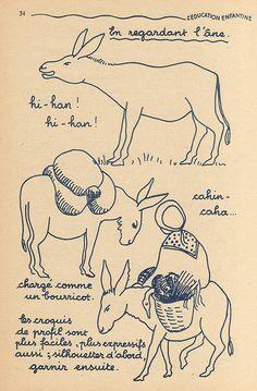 pour dessiner un âne