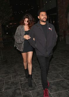 April 6: Selena arriving at Beauty & Essex with The Weeknd in Hollywood, California [HQs]... - Selena Gomez Style
