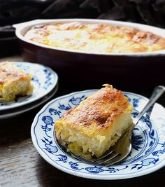 BUCNICA - Squash Cottage Cheese Strudel
