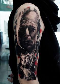cool Photo-Realist Tattoos by Italian Artist Silvano Fiato