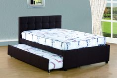 Free 2-day shipping. Buy Best Quality Full Platform Bed with Twin Trundle Bed, Multiple Colors at Walmart.com