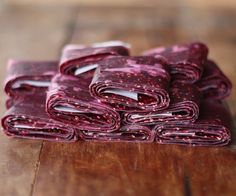 How To: Make Homemade Fruit Leather   17 Apart: How To: Make Homemade Fruit Leather. ...a great way to use up squishy fruit!