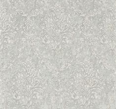 Riverside Damask Dove and Silver wallpaper by Sanderson