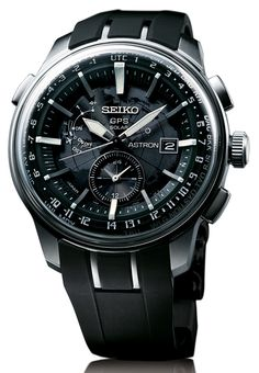 Seiko Astron GPS Watch New Design Added For 2014. Tech in these things is amazing.