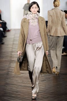 Ralph Lauren Fall 2009 Ready-to-Wear Collection Slideshow on Style.com
