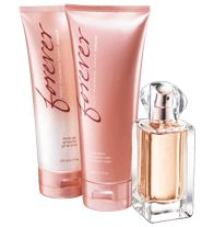 Forever Fragrance 3-Piece Set- a passionate blend of bright effervescent pink, pepper, orange blossom and the sensual warmth of musk!  Regularly $30.00, buy Avon Perfume online at http://eseagren.avonrepresentative.com