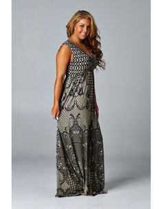 Some Kind of Wonderful - MMB Famous Maxi - MMB Famous Maxis - Plus Size - Marlie Madison