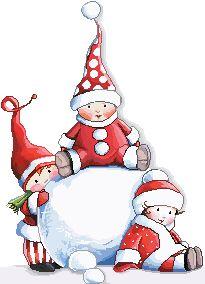 Gifs de Crianças de Natal